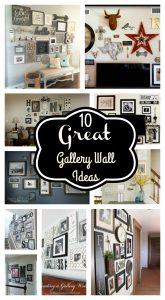 10 Great Gallery Wall Ideas