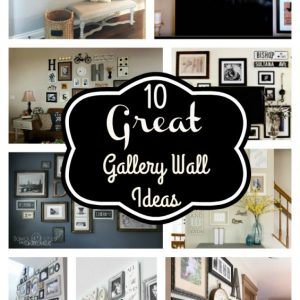 10 Great Gallery Wall Ideas