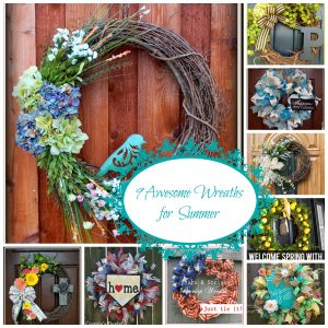 9 Great Summer Wreaths