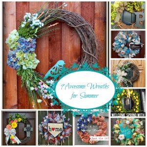 9 Great Summer Wreaths