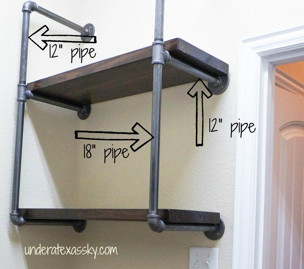 Double Shelves Measurements