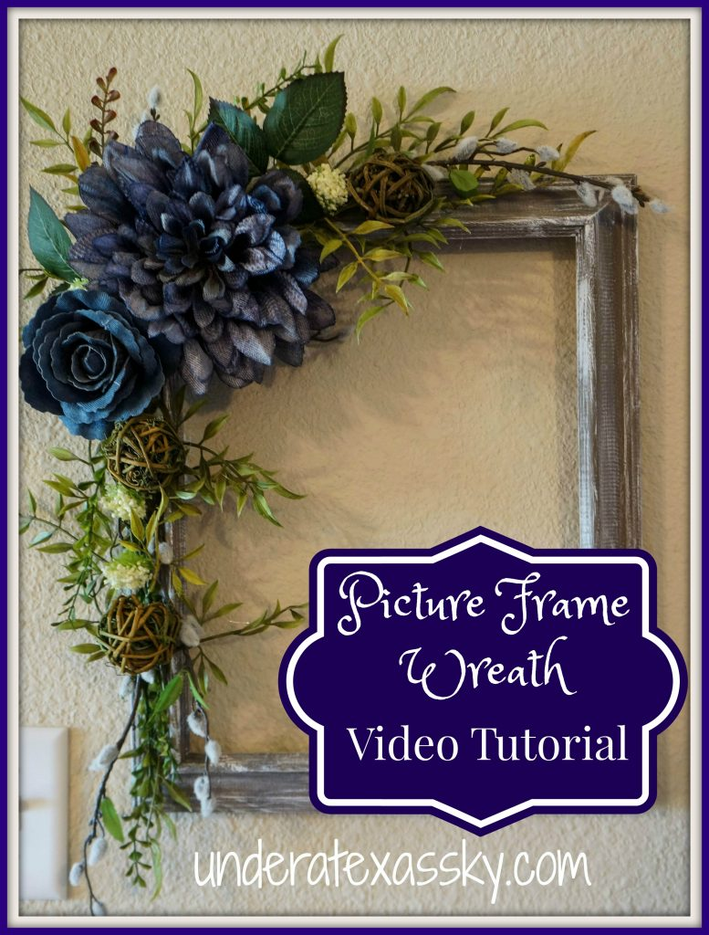 Picture Frame Wreath Video Tutorial