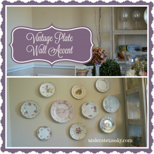Vintage China Accent Wall