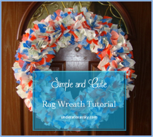 Rag Wreath Ad