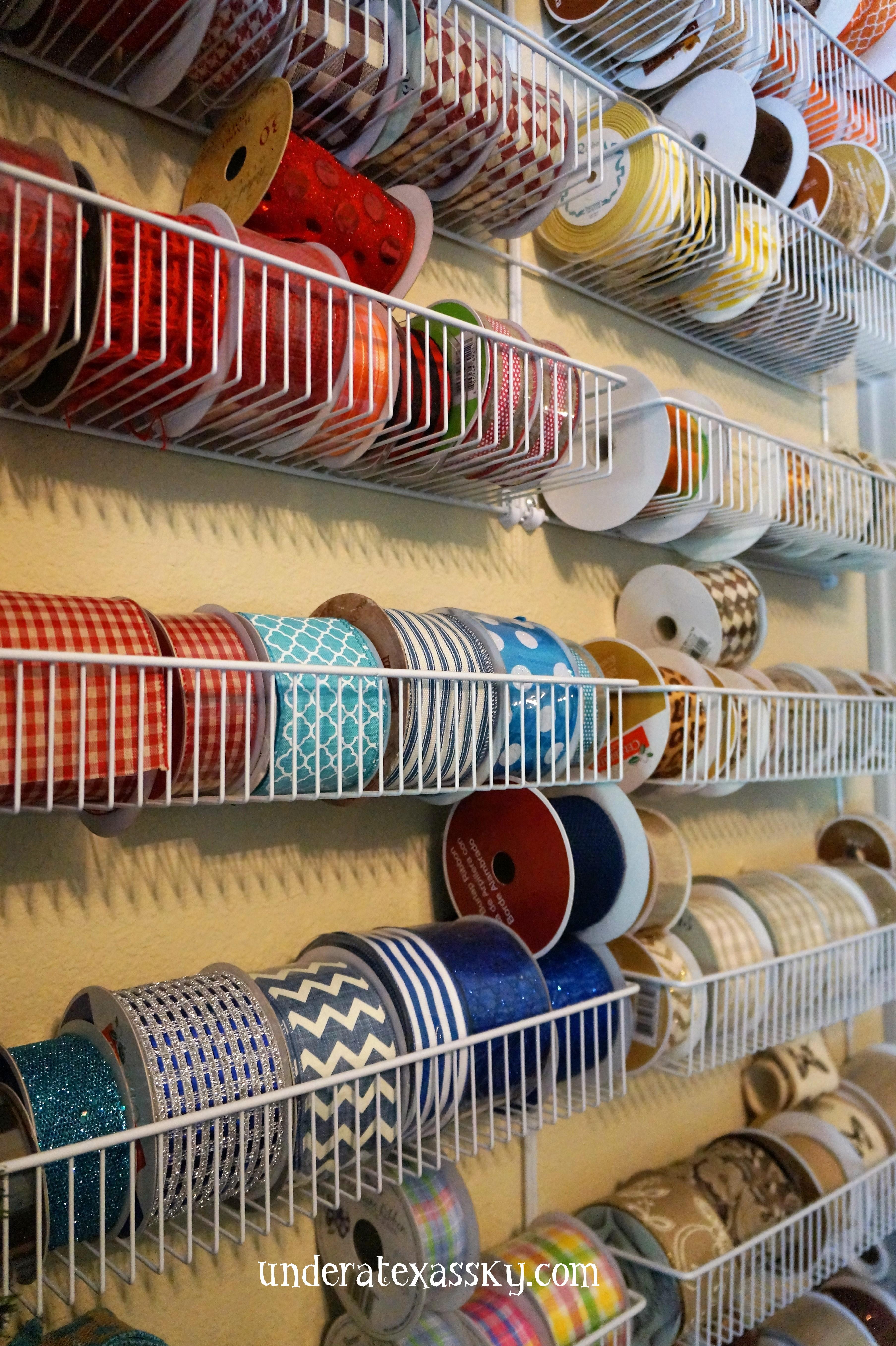 Ribbon Storage Solution Under A Texas Sky