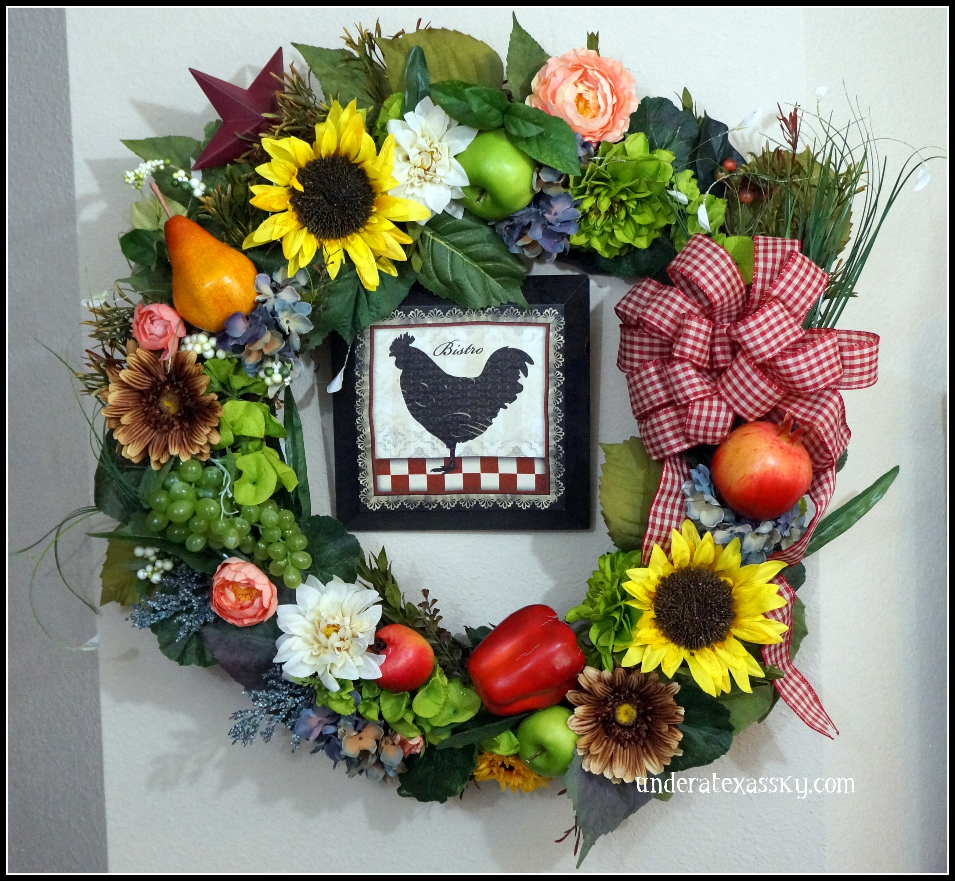 wreaths for any occasion under a texas sky