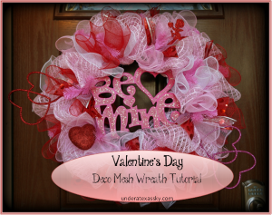 Valentines Day Wreath Ad
