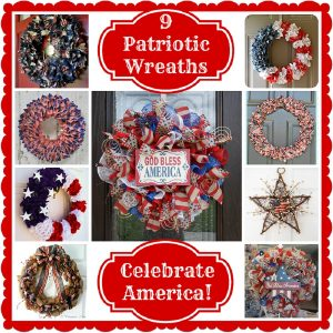 9 Great Patriotic Wreaths