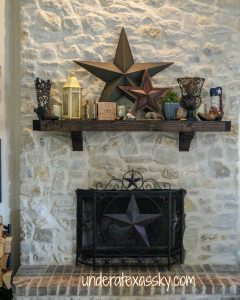 Texas Mantel Decor