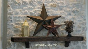 Texas Mantle Decor