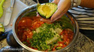 Spicy Avocado Lime Shrimp Dip