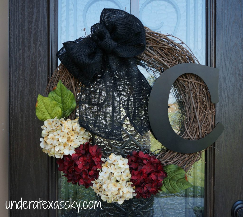 Monogram Wreath Completed