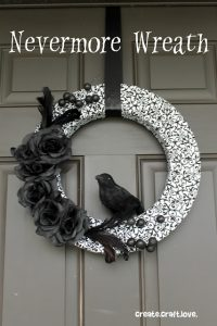 Nevermore Wreath- create craft love