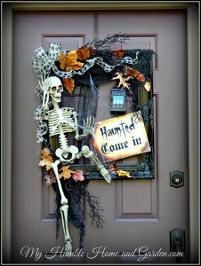 Skeleton Frame Wreath- My humble home and garden