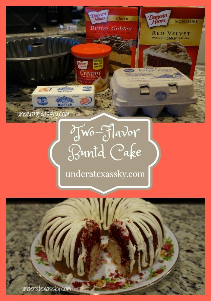 Two-Flavor Bundt Cake