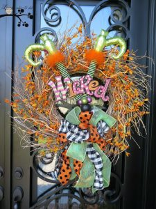 Wicked Wreath- lookie what i did