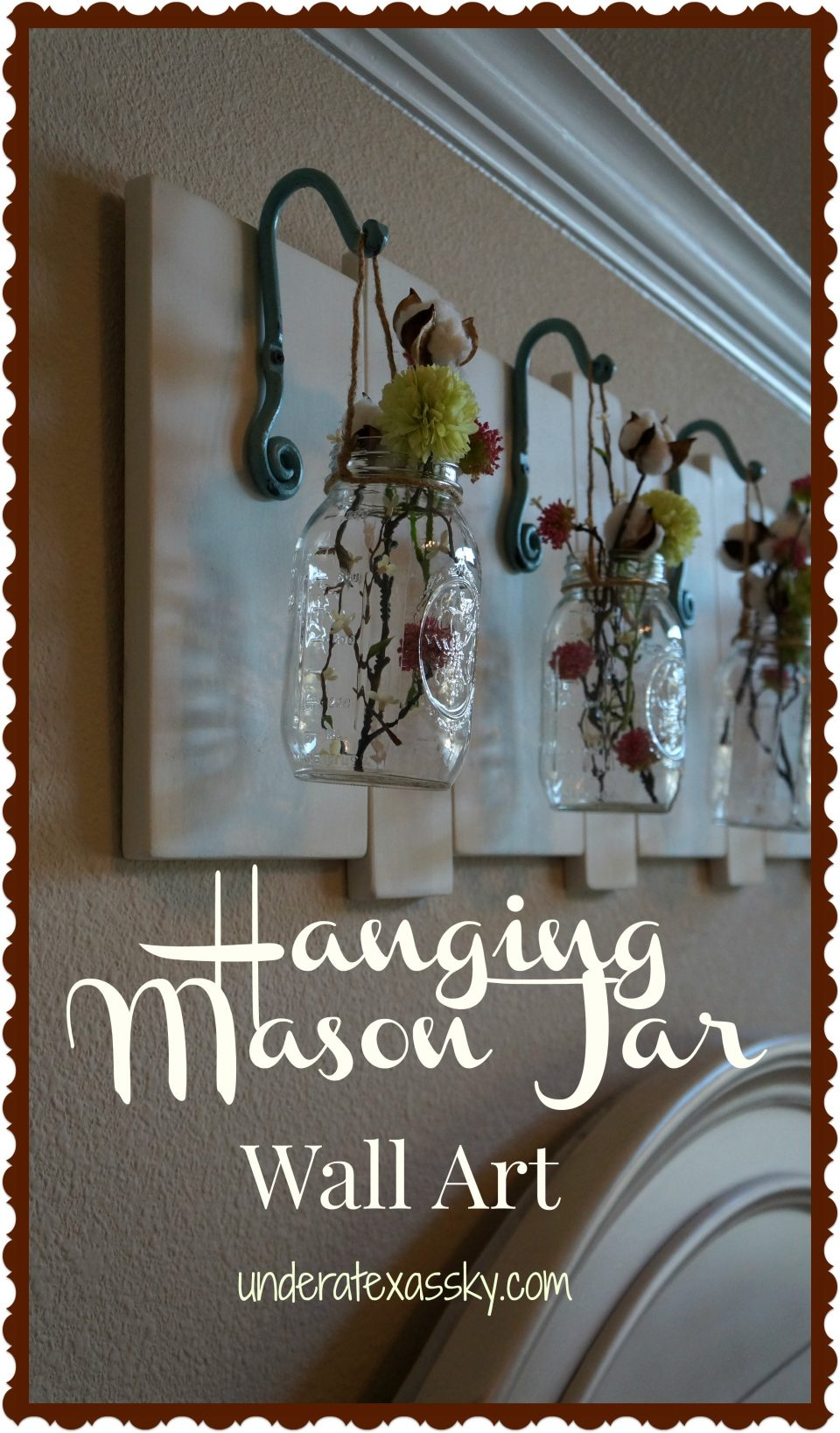 Mason Jar Wall Art Ad