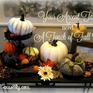 Fall Accent Table