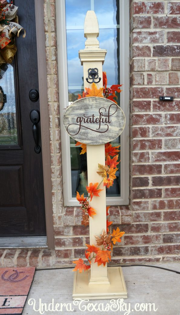 Porch Sign Post
