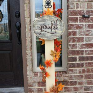 Porch Sign Post