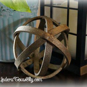 Decorative Orb DIY