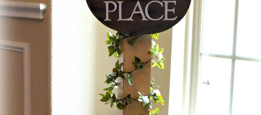 Porch Sign Post Update