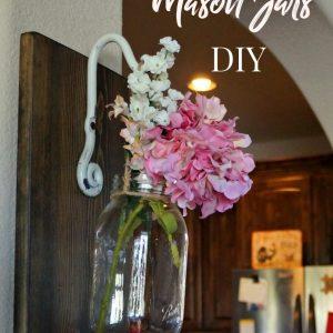 Hanging Mason Jar Wall Art