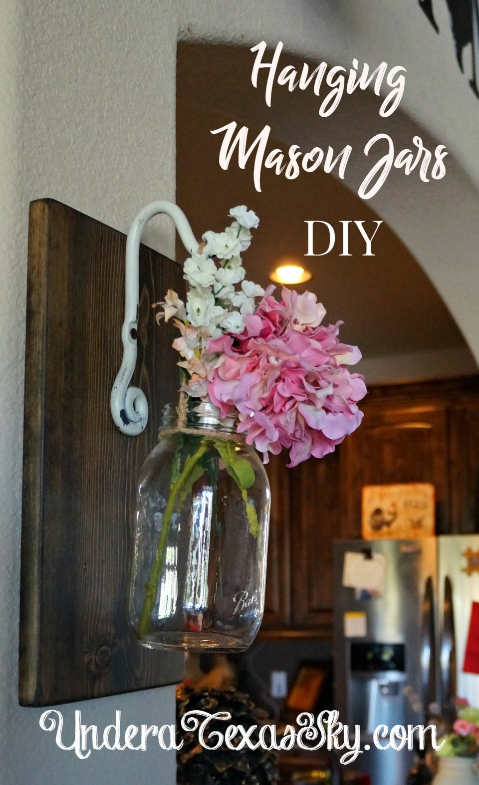 Hanging Mason Jar Wall Art