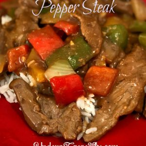 Quick and Easy Pepper Steak