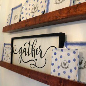 Plate Ledge Shelf Tutorial