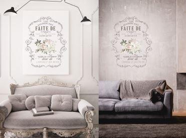 """Redesign Decor Transfer- L'amour Et Des Reves 26.5"""" x 36.2"""""""